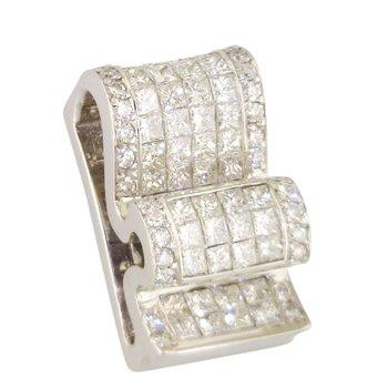 Estate Diamond Ribbon Slide