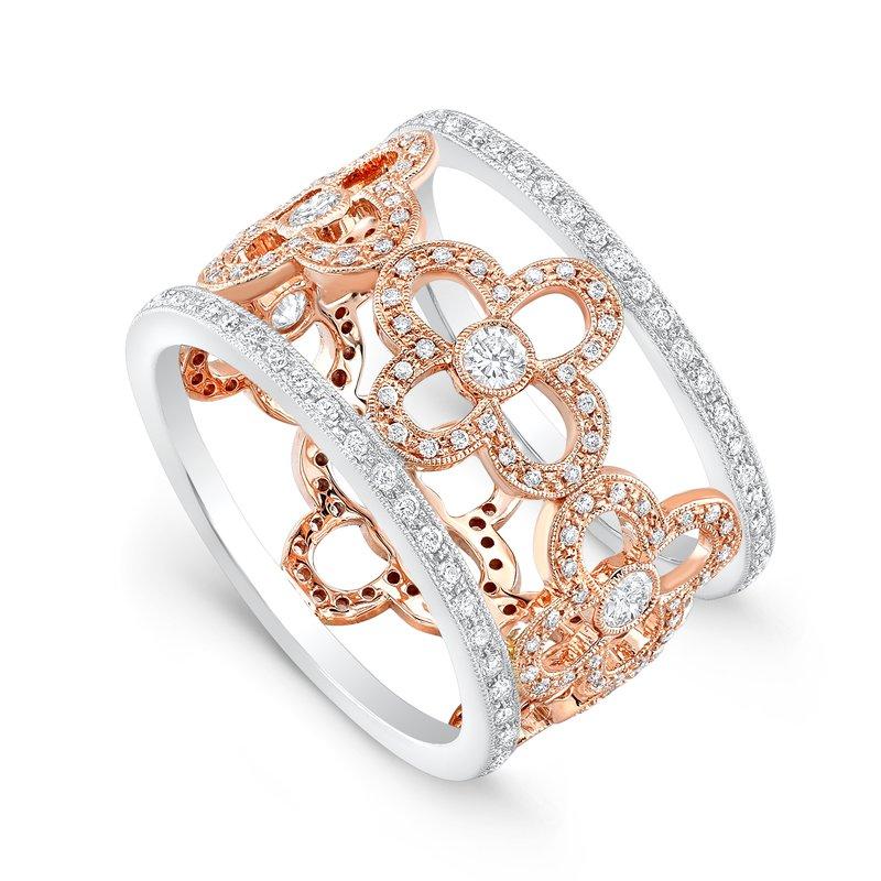 Beverley K Open Floral Diamond Ring