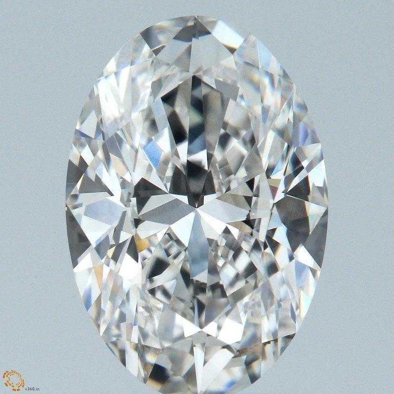 HPHT Diamond 1.51 Oval G VVS2