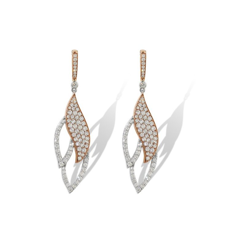 Isadora Diamond Dangle Earrings