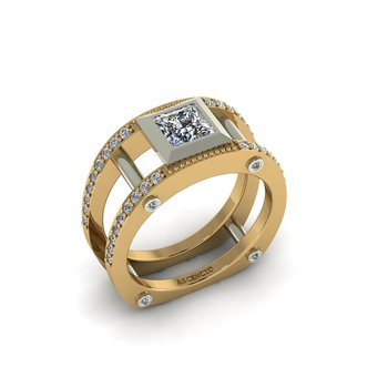 Modern Open Style Ring