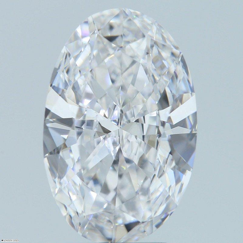 HPHT Diamonds Oval 3.01 E VVS1