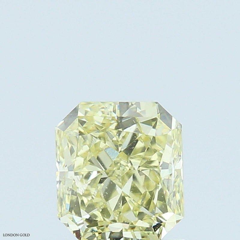 Colored Diamonds Radiant 1.01 Fancy-SI1