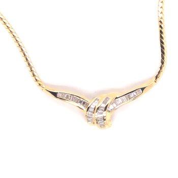 Estate Diamond Necklace