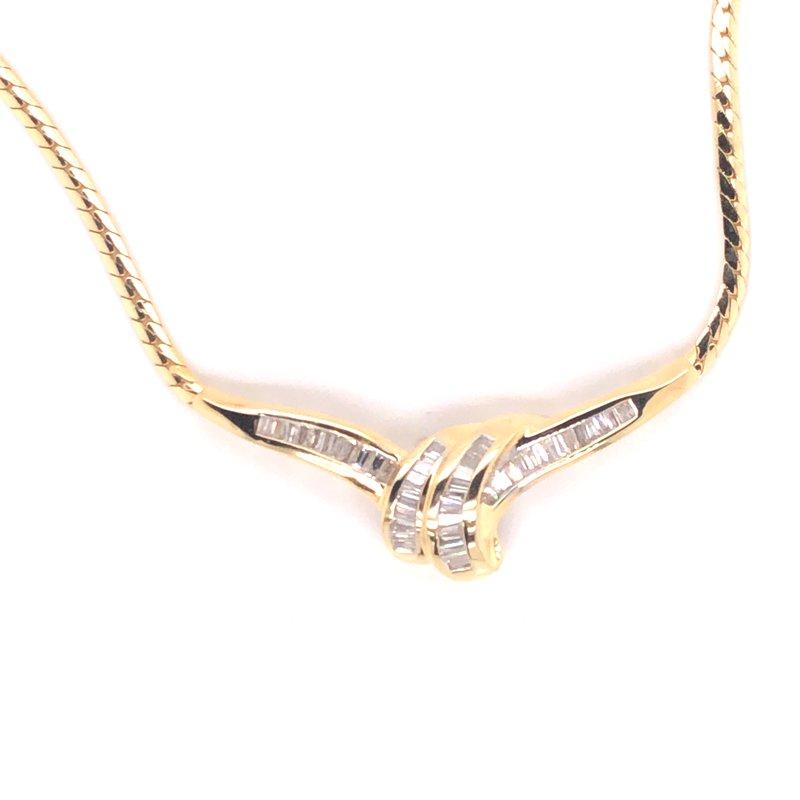 Cline Estate Diamond Necklace
