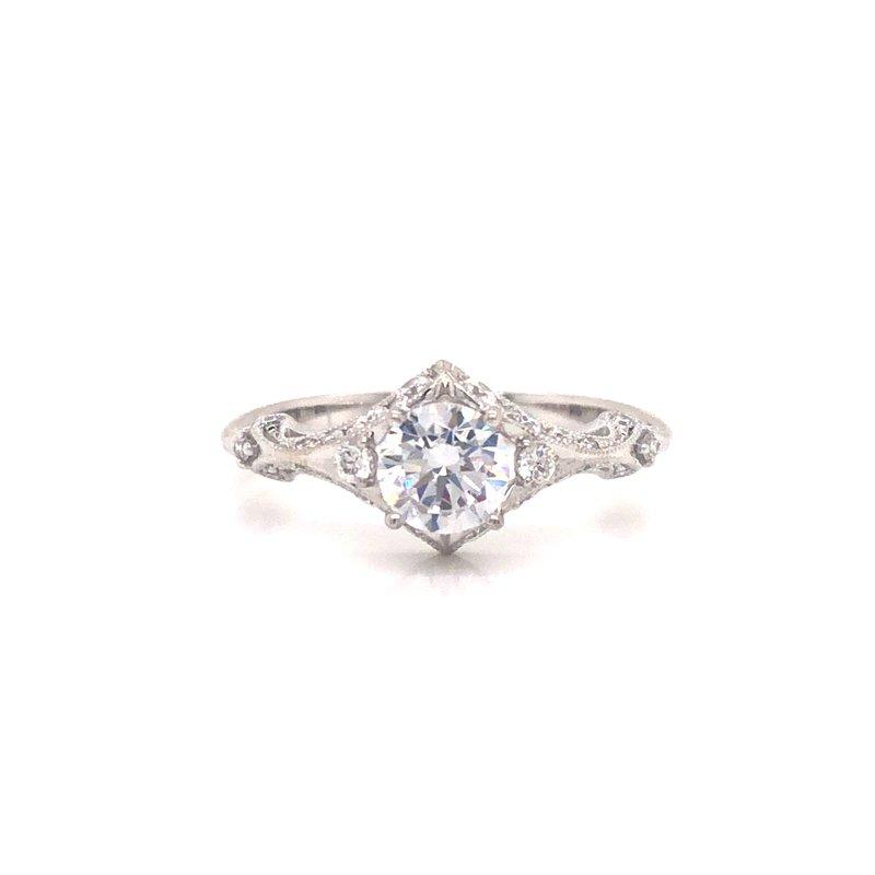 Cline Vintage Inspired Engagement Ring