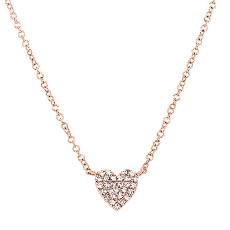 Cline Diamond Heart Pendant