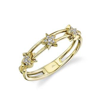 Diamond Star Slider Ring