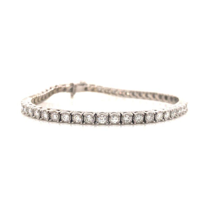 Cline Custom Diamond Tennis Bracelet