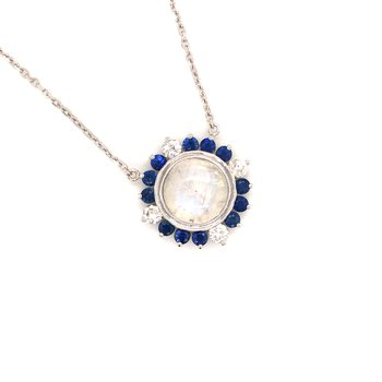 Cline Custom Moonstone Necklace
