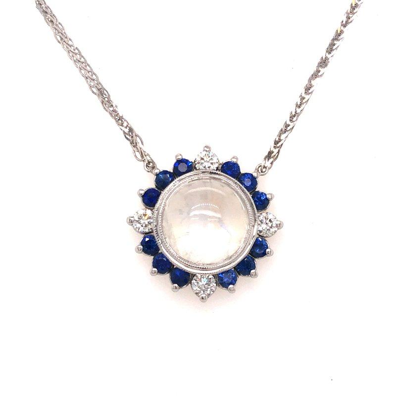 Cline Custom Moonstone Necklace