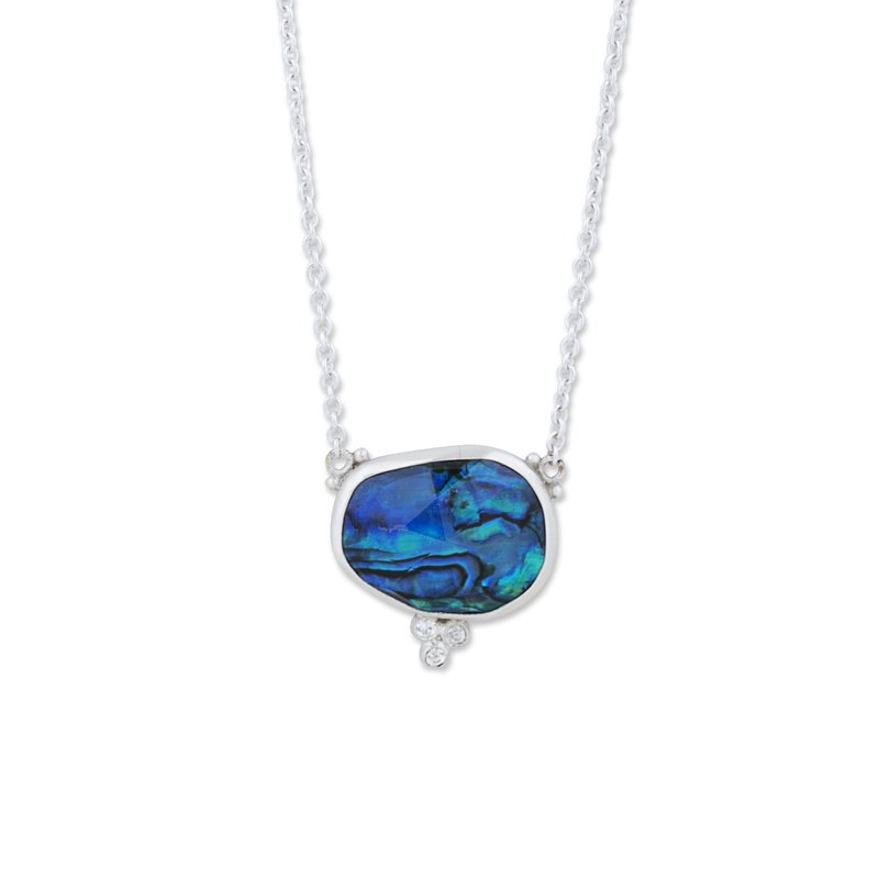 Cline Sterling Silver Ocean Necklace