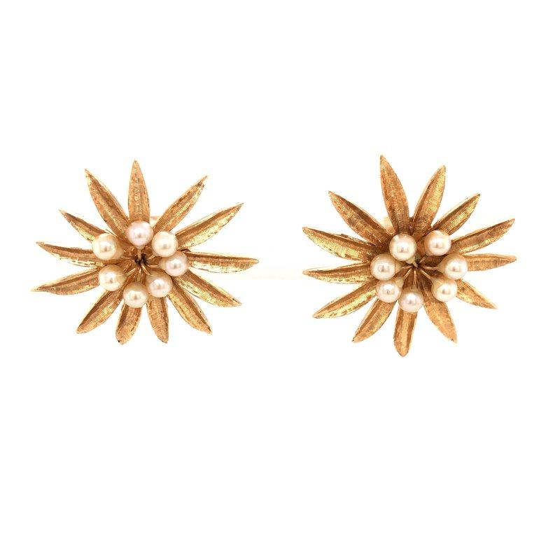 Cline Estate Pearl Earrings