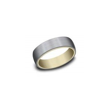 14k Yellow Gold and Tantalum Band