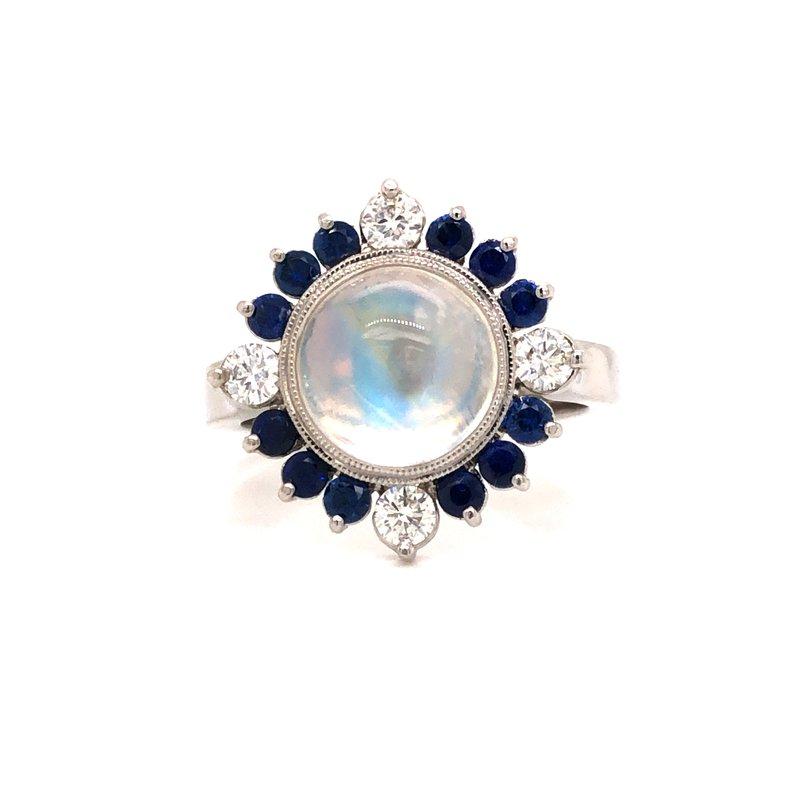 Cline Custom Moonstone Ring