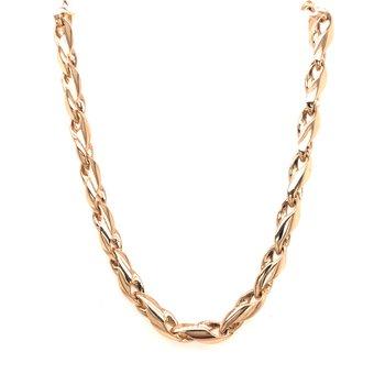 Estate Handmade Link Necklace