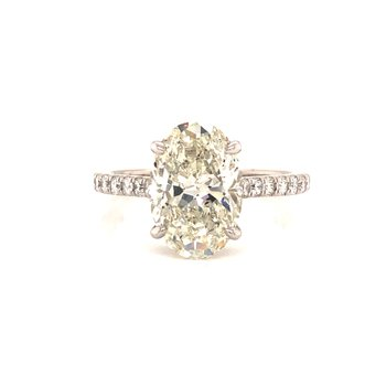 3 Carat Oval Engagement Ring