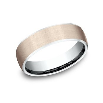 Comfort-fit Band with Satin Finish