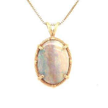 Estate Opal Pendant