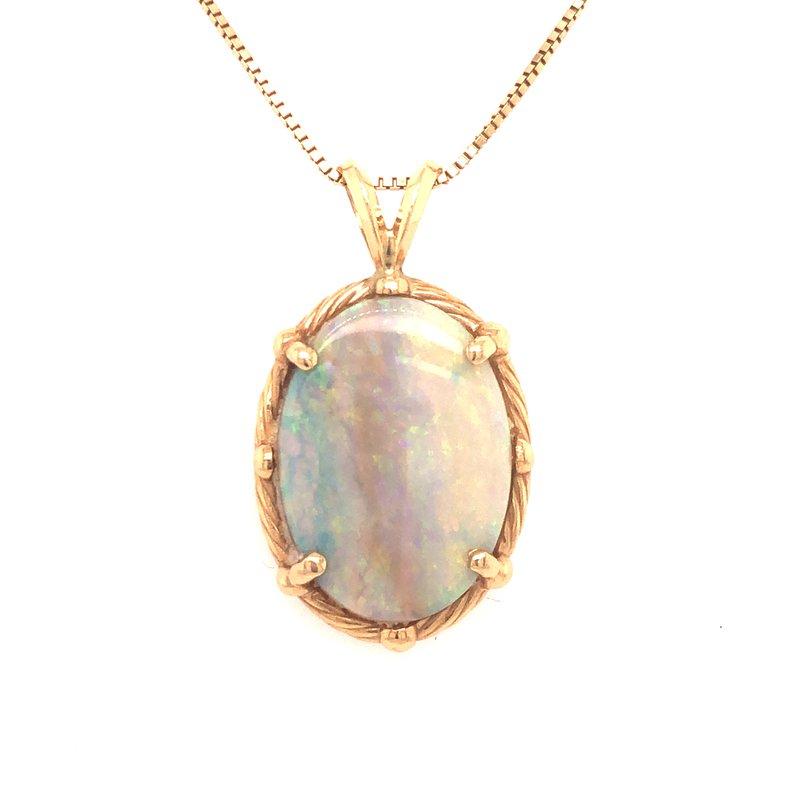Cline Estate Opal Pendant