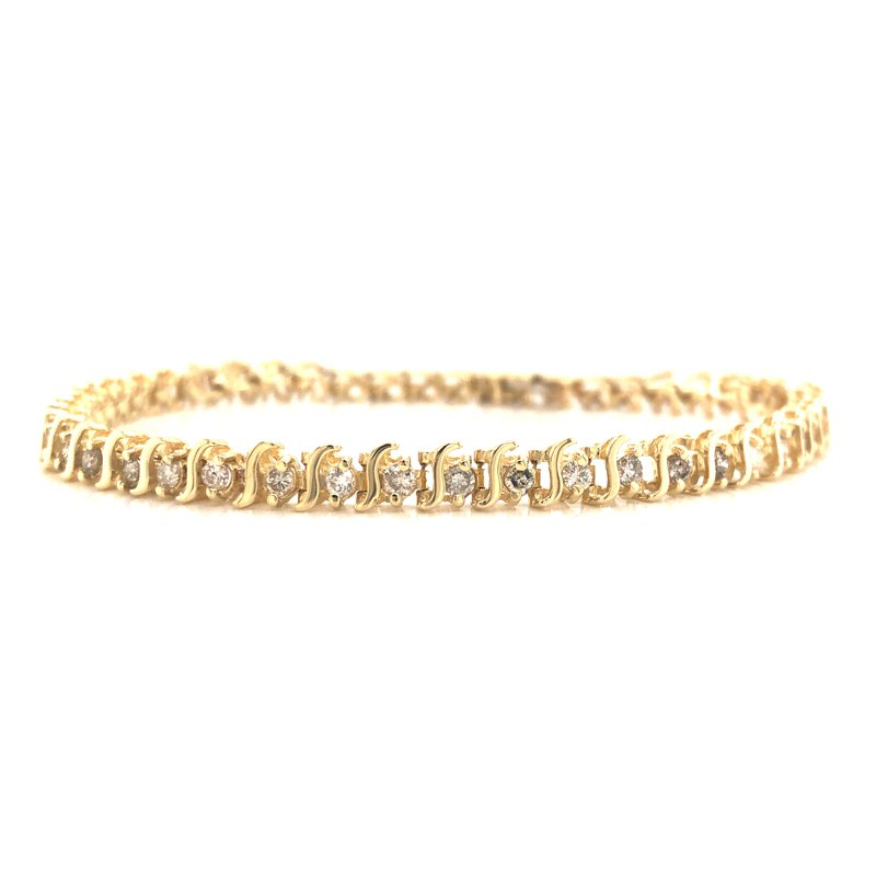 Cline Estate Diamond Tennis Bracelet