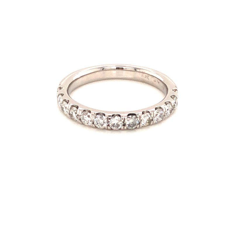 Cline Custom 14k White Gold Diamond Band