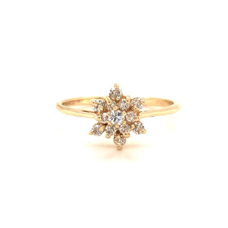 Cline Estate Diamond Ring