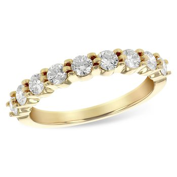 14k Gold Diamond Band (0.75ctw)