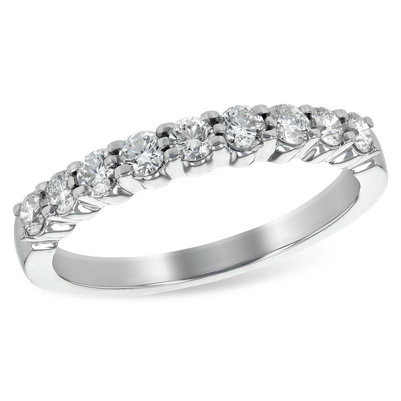 Cline 14k White Gold Diamond Band (0.50ctw)