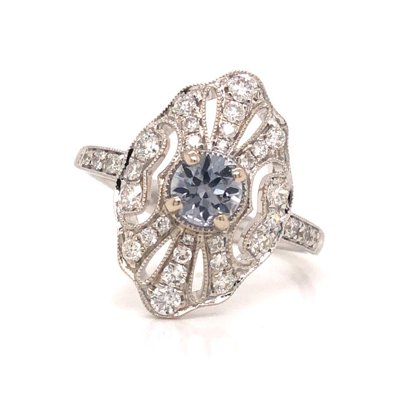 Cline Edwardian Inspired Engagement Ring
