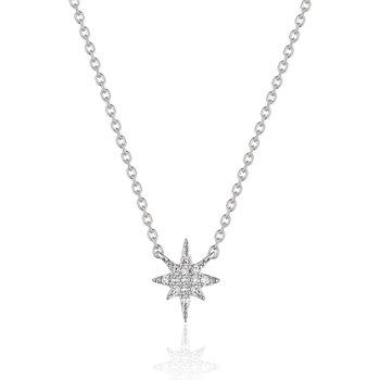 Diamond North Star Necklace