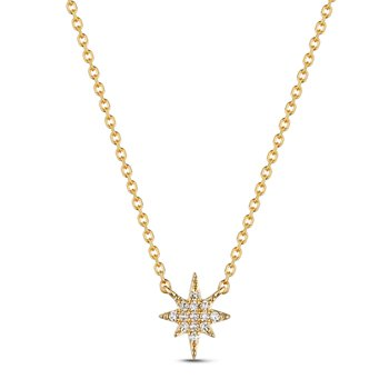 Diamond North Star Necklace