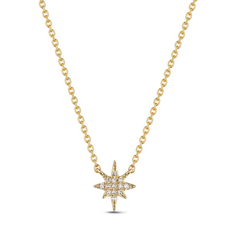 Cline Diamond North Star Necklace