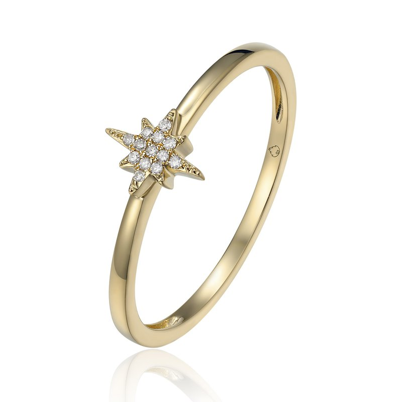 Cline Diamond Star Ring