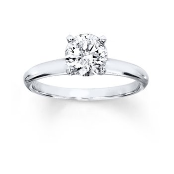 1ct Diamond Solitaire Ring