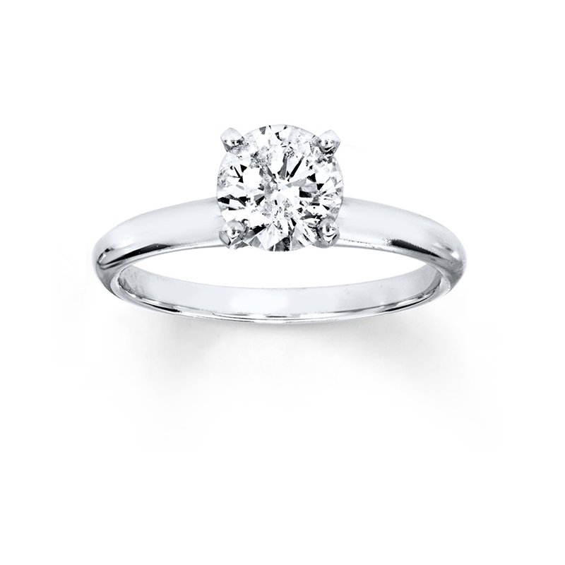 Cline 1ct Diamond Solitaire Ring