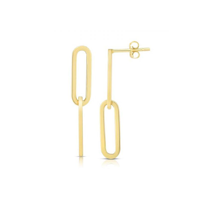 Cline 14 Karat Earrings