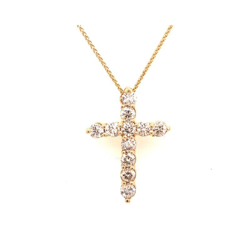 Cline Diamond Cross Pendant