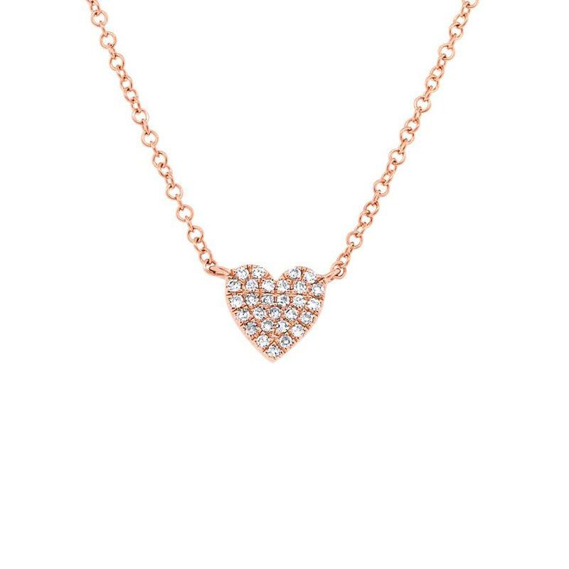 Cline Diamond Heart Necklace