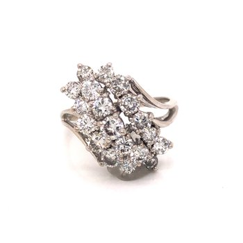 Estate Diamond Cocktail Ring