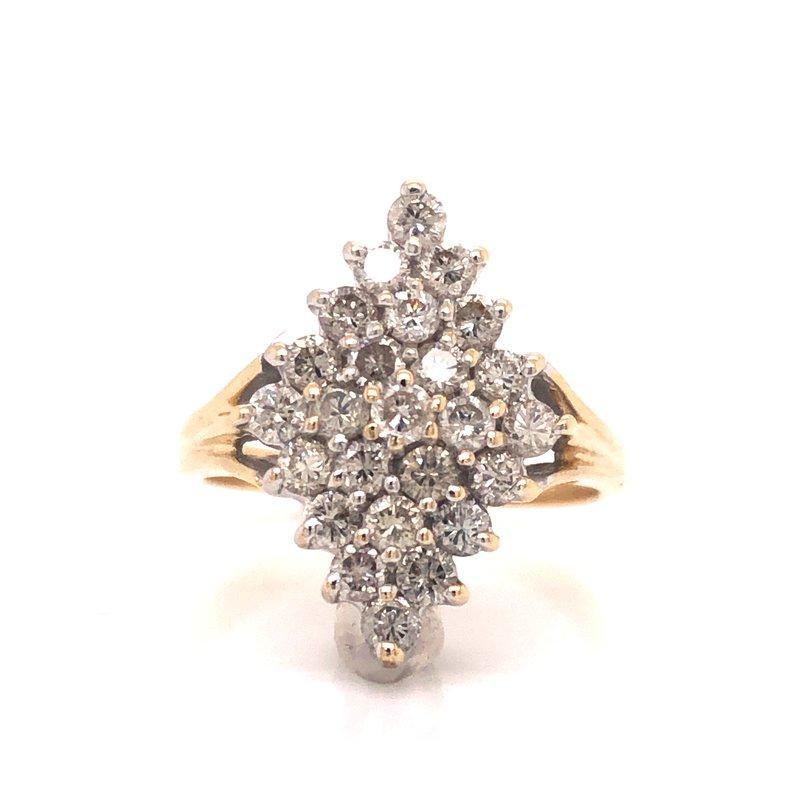 Cline Estate Diamond Cluster Ring