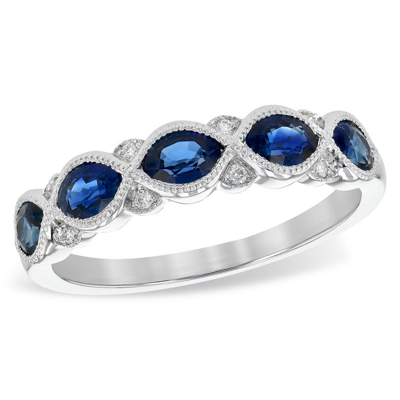 Cline Sapphire and Diamond Ring