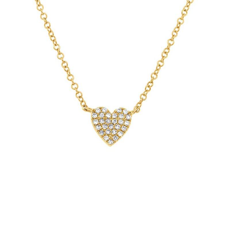 Cline Diamond Pave Heart Pendant