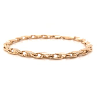 Estate Handmade Link Bracelet