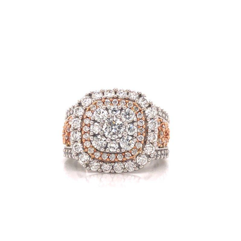 Cline Two Tone Diamond Ring