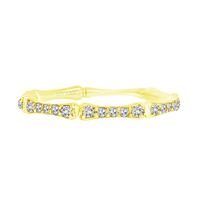 Cline 18k Yellow Gold Diamond Band