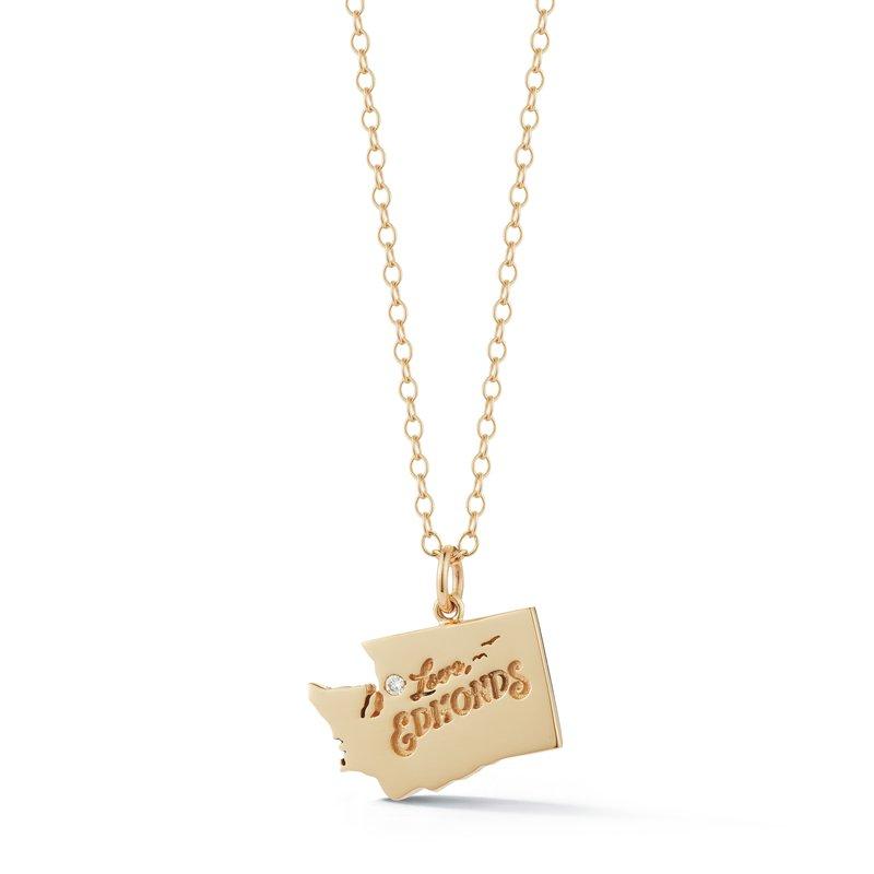 Cline Cline Custom Love Edmonds Pendant with Diamond