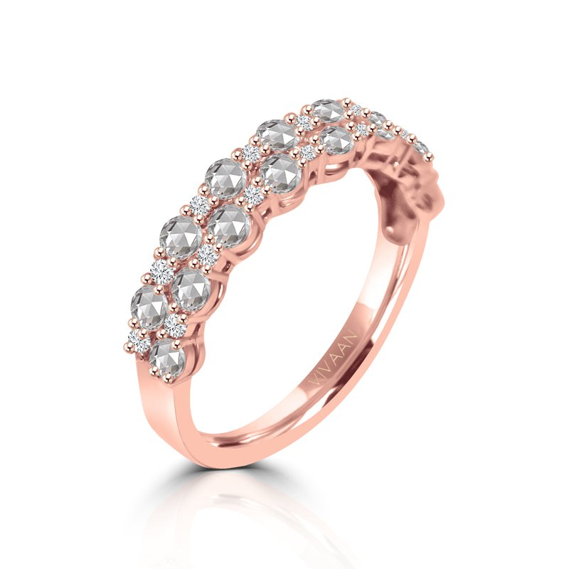 Cline 18k Rose Gold Diamond Ring
