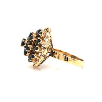 Estate Sapphire Dome Ring