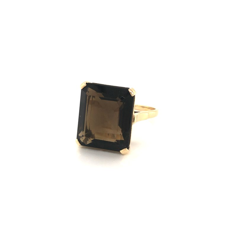 Cline Estate Smokey Quartz Ring